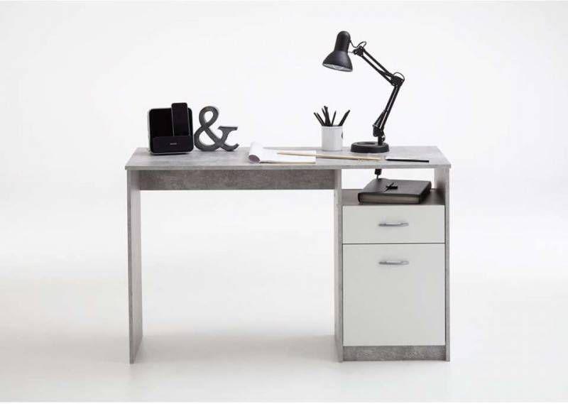 Demeyere bureau switch met lade licht eiken cm
